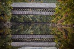 Ponte coberta de Henniker Foto de Stock