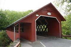 Ponte coberta de Vermont Foto de Stock Royalty Free