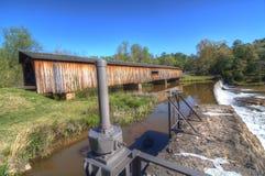 Ponte coberta do moinho de Watson Foto de Stock Royalty Free