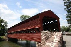Ponte coberta em Pensilvânia fotografia de stock royalty free