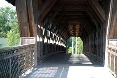Ponte coberta, Guelph, Ontário, Canadá Foto de Stock Royalty Free