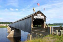 A ponte coberta a mais longa no mundo Foto de Stock Royalty Free