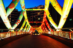 Ponte colorida Imagens de Stock