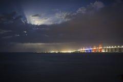 Ponte colorida II fotografia de stock royalty free
