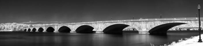 Ponte commemorativo Fotografia Stock Libera da Diritti