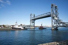 Ponte commemorativo, Portsmouth, nuovo Hamshire Immagini Stock