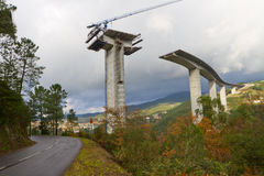 Ponte complexa Imagens de Stock Royalty Free