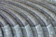 Ponte con gli arché del mattone Immagini Stock Libere da Diritti