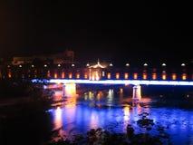 Ponte coperto immagine stock