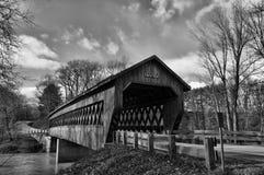 Ponte coperto fotografie stock