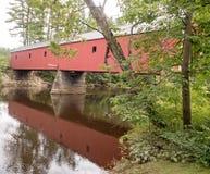 Ponte coperto Cresson immagine stock