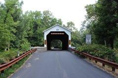 Ponte coperto del mulino di Seigrist fotografia stock