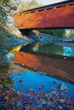 Ponte coperto della strada di Everett Fotografia Stock Libera da Diritti