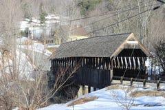 Ponte coperto di Meriden immagini stock libere da diritti