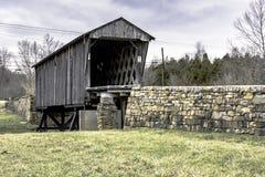 Ponte coperto in Goddard, KY fotografia stock