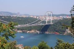 Ponte a Costantinopoli Turchia immagine stock