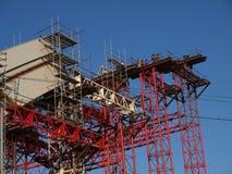 Ponte in costruzione 2 Immagine Stock