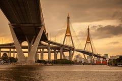 Ponte crepuscolare Fotografia Stock Libera da Diritti