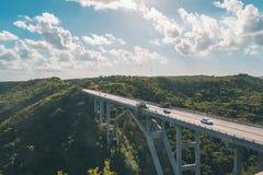 Ponte cubano Fotografie Stock
