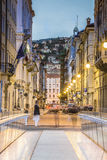 Ponte Curto and Trento Street in Trieste, Italy Stock Photography