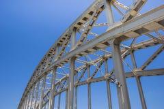 Ponte d'acciaio Immagini Stock Libere da Diritti