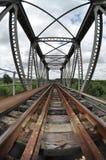Ponte d'acciaio Fotografie Stock