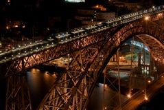 Ponte D. Luís - Porto Stockbild