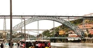 Ponte D luis fotografia stock libera da diritti
