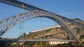 Ponte D Luis Oporto Foto de archivo