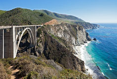 Ponte da angra de Bixby Foto de Stock