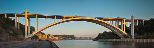 Ponte da Arrabida Bridge Stock Images