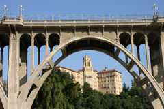 Ponte da avenida de Colorado Imagem de Stock Royalty Free