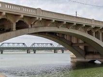 Ponte da avenida do moinho Fotografia de Stock Royalty Free