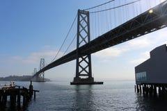 Ponte da baía Fotos de Stock Royalty Free