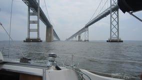 Ponte da baía de Chesapeake Fotografia de Stock