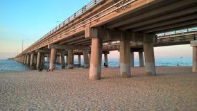 Ponte da baía de Chesapeake Imagens de Stock