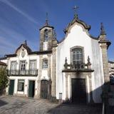 Ponte da Barca kyrka av Misericordia Arkivfoton