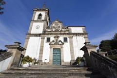 Ponte da Barca Parish Church Stock Images