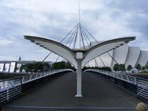 A ponte da Bell de Glasgow Foto de Stock Royalty Free