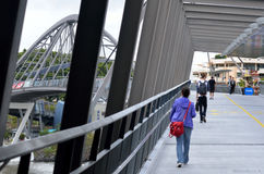 Ponte da benevolência - Brisbane Austrália Imagem de Stock Royalty Free