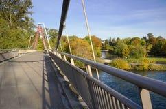 Ponte da bicicleta de Defazio Imagens de Stock Royalty Free