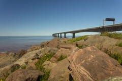 Ponte da confederação Imagens de Stock