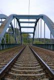 Ponte da construção Fotos de Stock Royalty Free