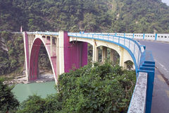 Ponte da coroação, Bengal ocidental, Índia Imagem de Stock Royalty Free