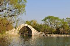 Ponte da correia do jade do palácio de verão Fotos de Stock