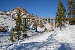 Ponte 2 da estrada da passagem de Donner Imagem de Stock Royalty Free
