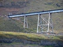 Ponte da estrada de ferro Fotos de Stock