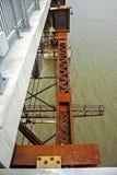 Ponte da estrada de ferro de Poughkeepsie imagem de stock royalty free