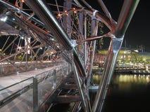 A ponte da hélice Imagens de Stock