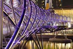 A ponte da hélice Imagens de Stock Royalty Free